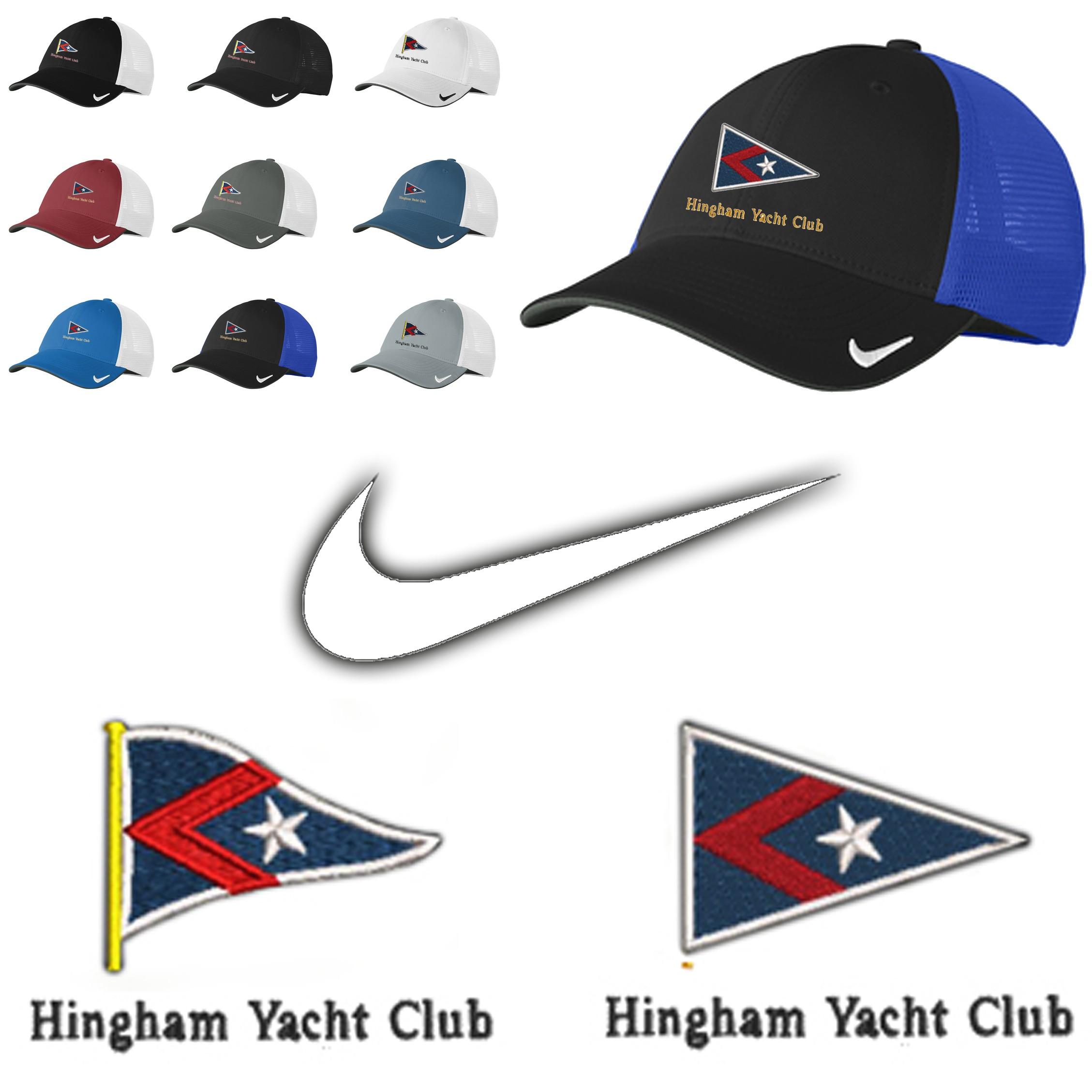cac52b48 Hingham Yacht Club Nike Dri-FIT Mesh Back Cap
