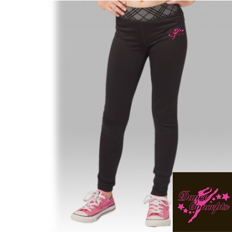 Dance Concepts Boxercraft POWER Premium Leggings, Girls Youth
