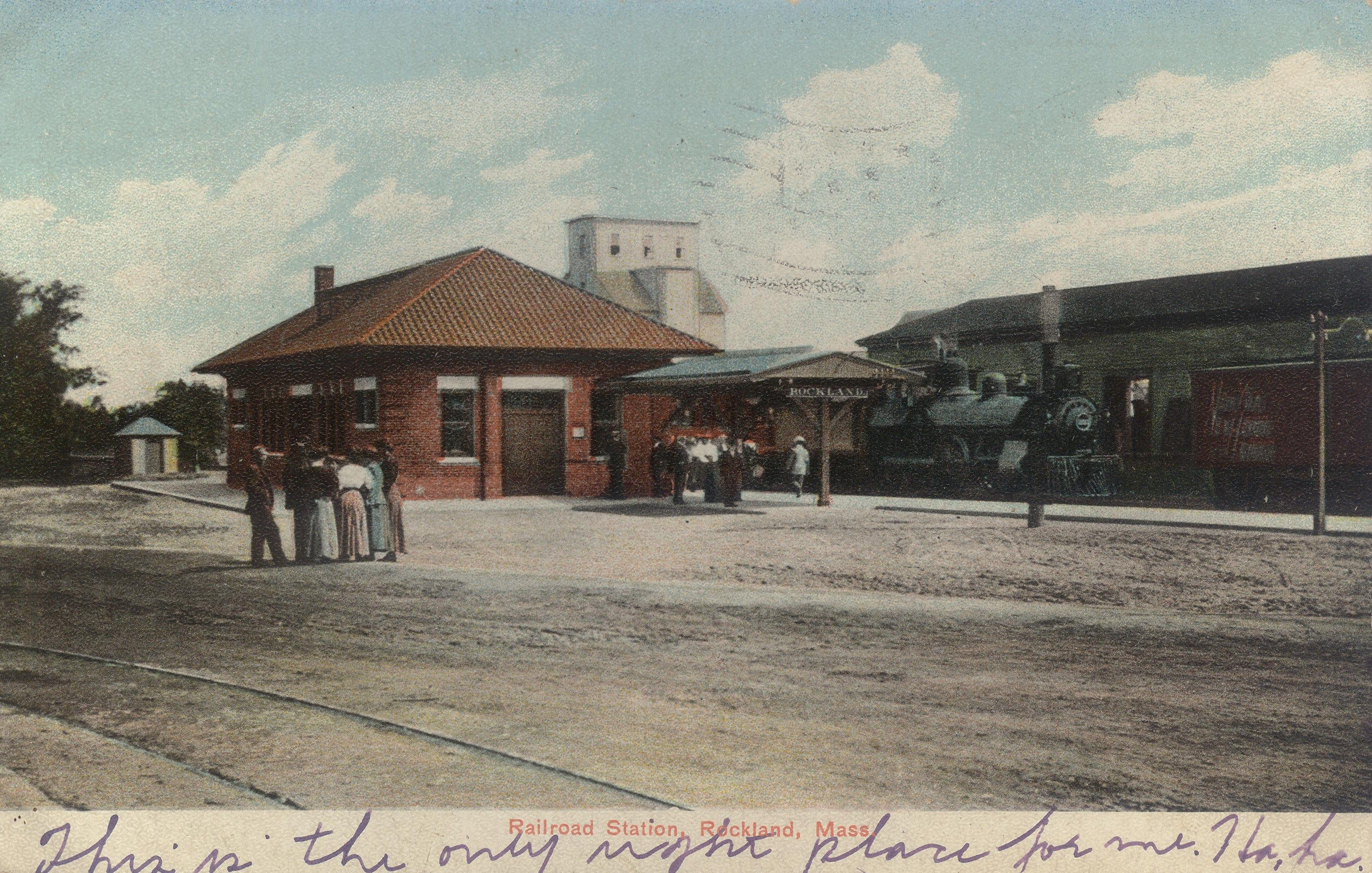 Rockland Railroad Station
