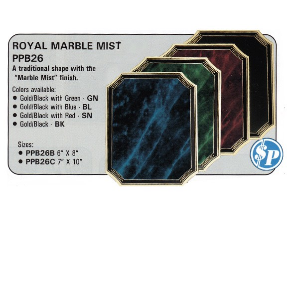 Marco Awards Brand Series Plaques, $P