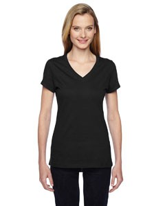 Fruit of the Loom Ladies' 4.7 oz. 100% Sofspun™ Cotton Jersey Junior V-Neck T-Shirt