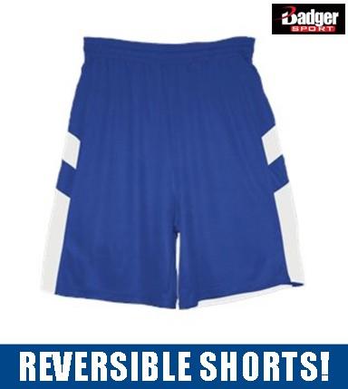 Scituate Basketball Badger B-Pivot Reversible Short, Adult Unisex