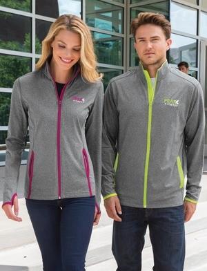 Sport-Tek Ladies Sport-Wick Stretch Contrast Full Zip Jacket LST853
