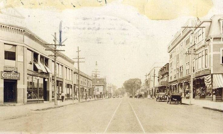 Union Street, Long Ago