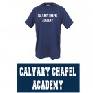 Calvary Chapel Academy Pennant Power Tee, Youth Sizes
