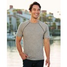 Next Level Men's Mock Twist Short-Sleeve Raglan T-Shirt 2050