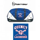 Quincy Lacrosse Harrow Brand Blitz Mini Duffel Bag