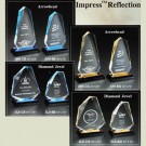 Marco Awards Brand Impress Reflections Series Acrylic Plaques