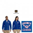 Quincy Lacrosse Harriton Brand Fleece Jacket For Men & Women