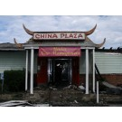 Original China Plaza After The Fire, Market Street, 2005