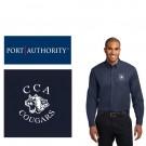 Calvary Chapel Academy Port Authority® Long Sleeve Easy Care Shirt, Mens