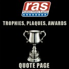 TROPHY & AWARD QUICK QUOTE- TROPHY, PLAQUE, AWARDS QUICK & EASY QUOTE PAGE