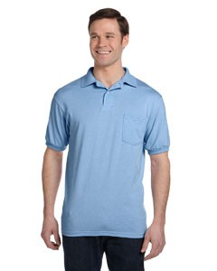 Hanes 5.2 oz., 50/50 EcoSmart® Jersey Pocket Polo