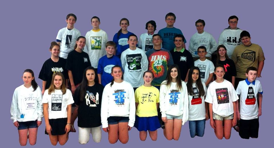 Hanover Middle School Six Flags Tees #1