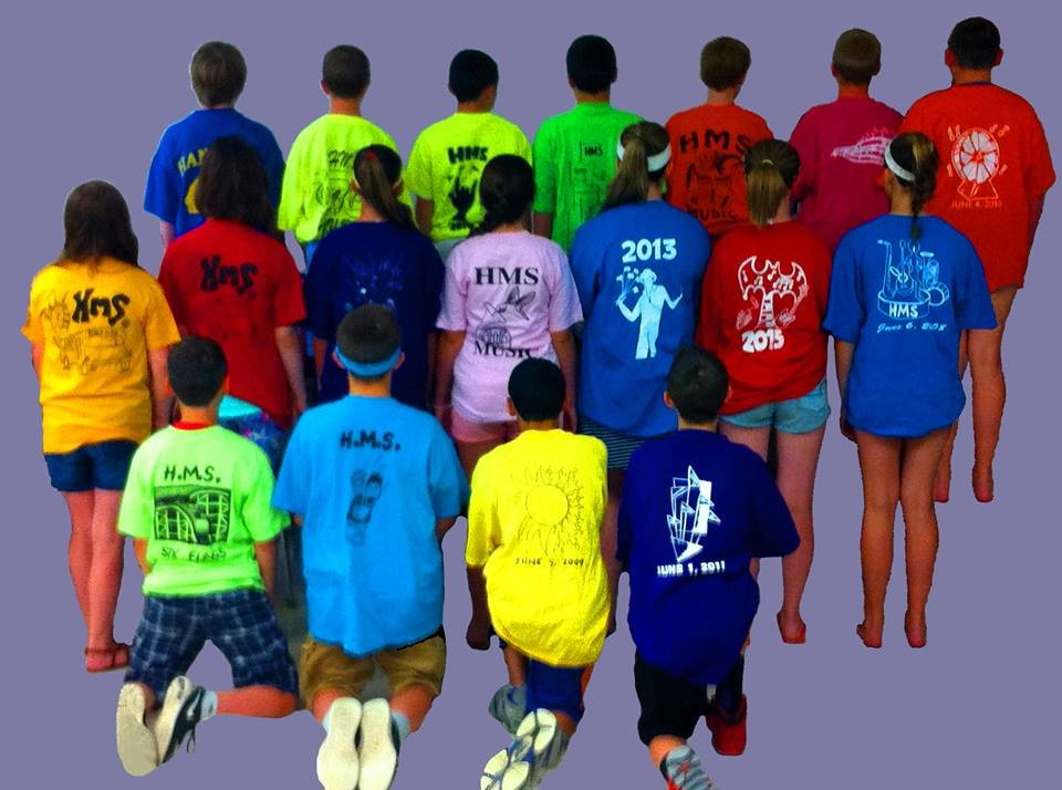 Hanover Middle School Six Flags Tees #2