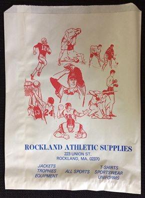 Rockland Athletics Retro Throwback- Original Shopping Bag