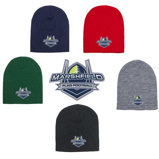 Marshfield Flag Football YP Brand Knit Cap