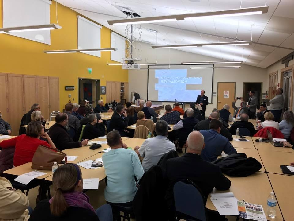 Turnout at the RCC Rockland Center Revitalization efforts 2017, 1 of 2
