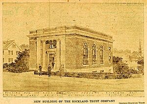 1917 New Rockland Trust Bank Bldg 288 Union St