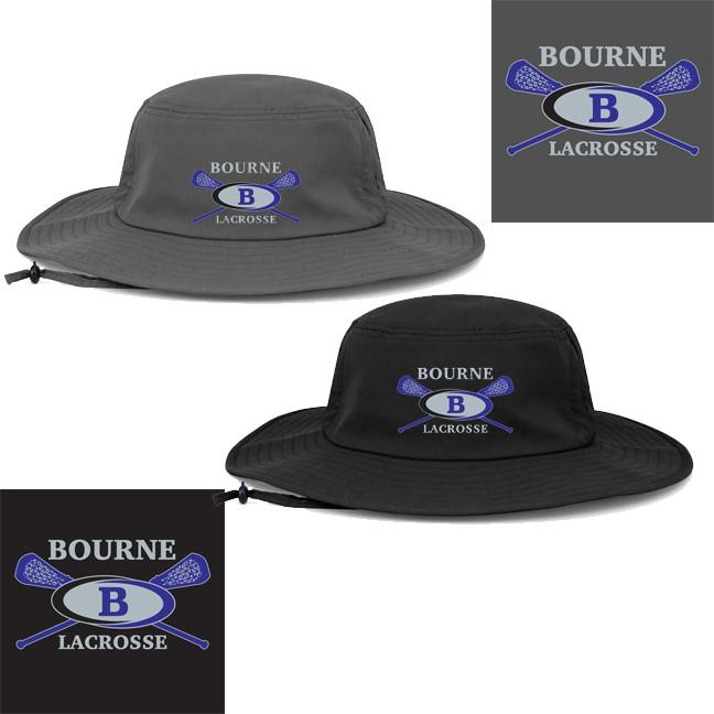 Bourne Lacrosse Pacific Headwear Brand Ultra Premium 1946 Manta Ray Boonie Hat