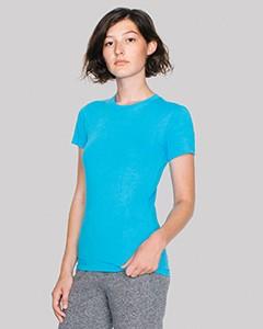 American Apparel Ladies' Fine Jersey Short-Sleeve T-Shirt 2102