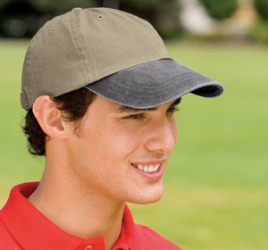 Port & Company® -Two-Tone Pigment-Dyed Cap CP83