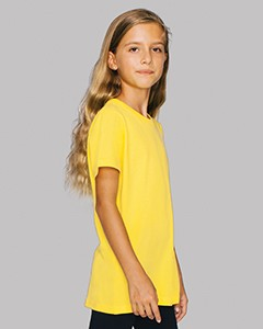 American Apparel Youth Fine Jersey USA Made T-Shirt 2201