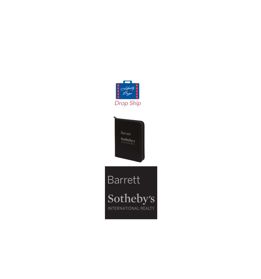 Barrett Sotheby's Liberty Bags Drop Ship Zip Around Padfolio