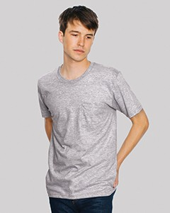 American Apparel Unisex Fine Jersey Pocket Short-Sleeve T-Shirt 2406