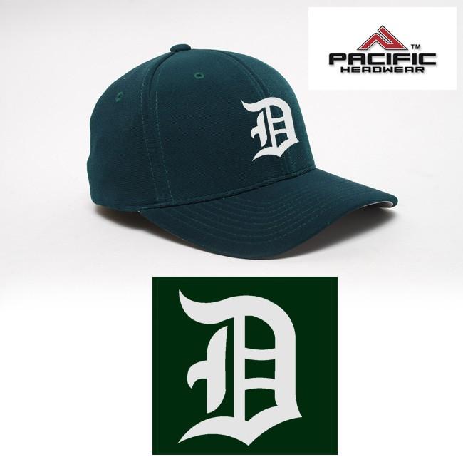 Duxbury Youth Baseball Pacific Headwear 298M  M2Performance, Adjustable, EMBROIDERED