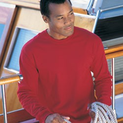 Hanes 6.1 oz. 100% Heavyweight Cotton Long-Sleeve Beefy-T®	 5186