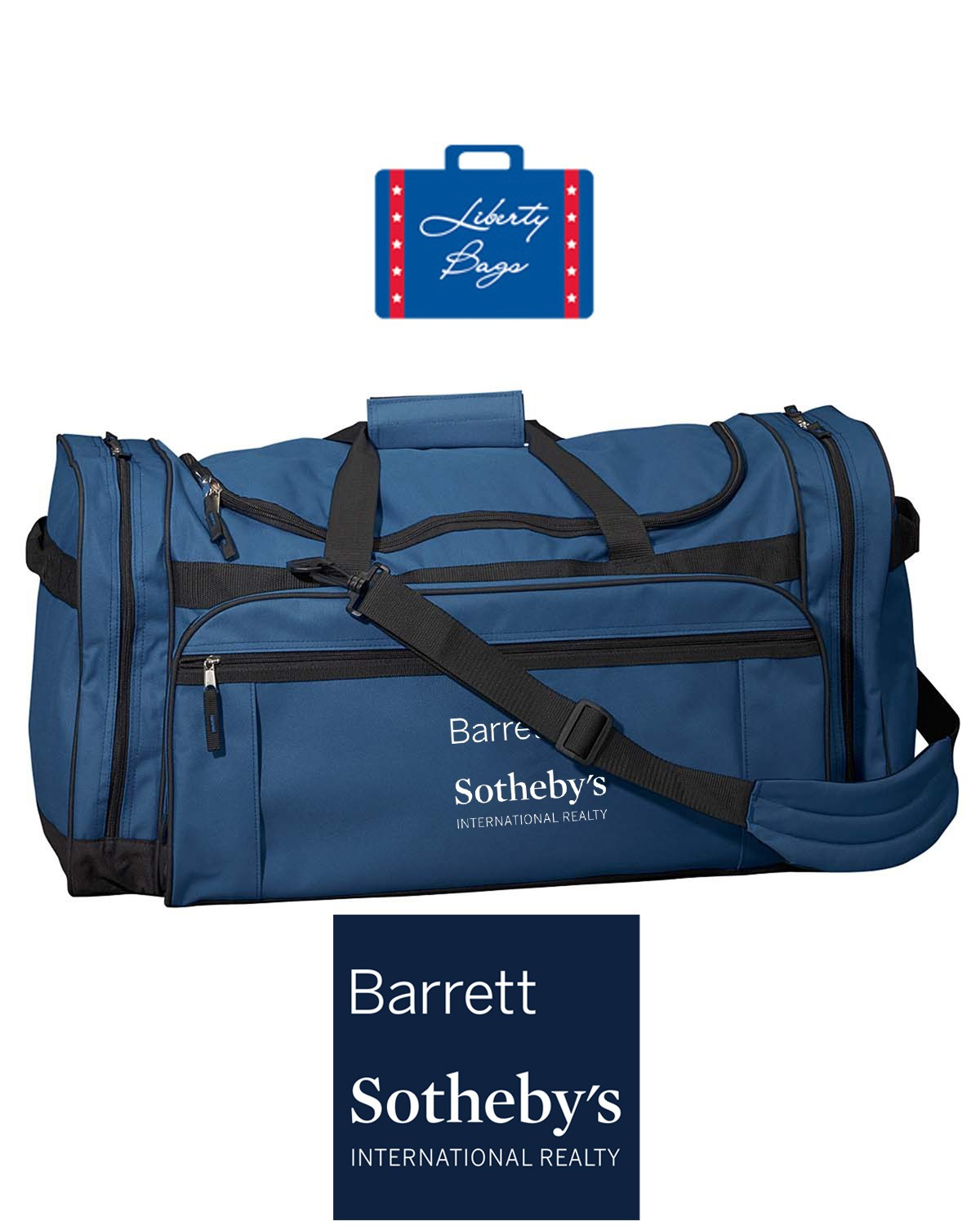 Barrett Sotheby's Liberty Bags Explorer Large Duffel Bag