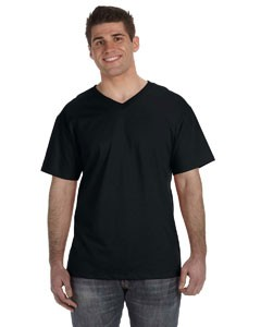 Fruit of the Loom Men's 5 oz., 100% Heavy Cotton HD® V-Neck T-Shirt