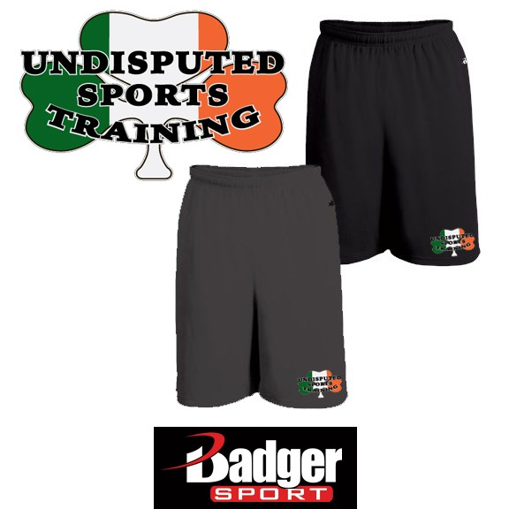 Undisputed Sports Training Badger Brand 10 Inch Money Mesh Short (with pockets)