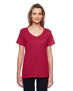 Hanes Ladies' X-Temp Performance V-Neck T-Shirt