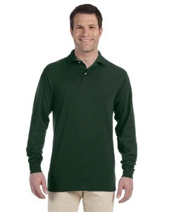 Jerzees 5.6 oz., 50/50 Long-Sleeve Jersey Polo with SpotShield™ Stain Resistance