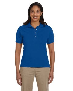 Jerzees Ladies' 6.5 oz. Ringspun Cotton Piqué Polo
