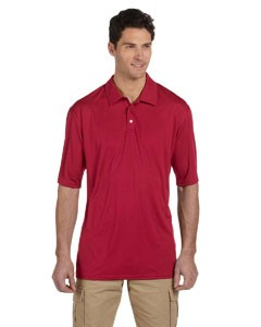 Jerzees Dri-POWER® SPORT Men's 4.1 oz., 100% Polyester Micro Pointelle Mesh Moisture-Wicking Polo