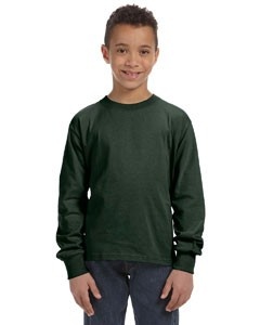 Fruit of the Loom Youth 5 oz., 100% Heavy Cotton HD® Long-Sleeve T-Shirt