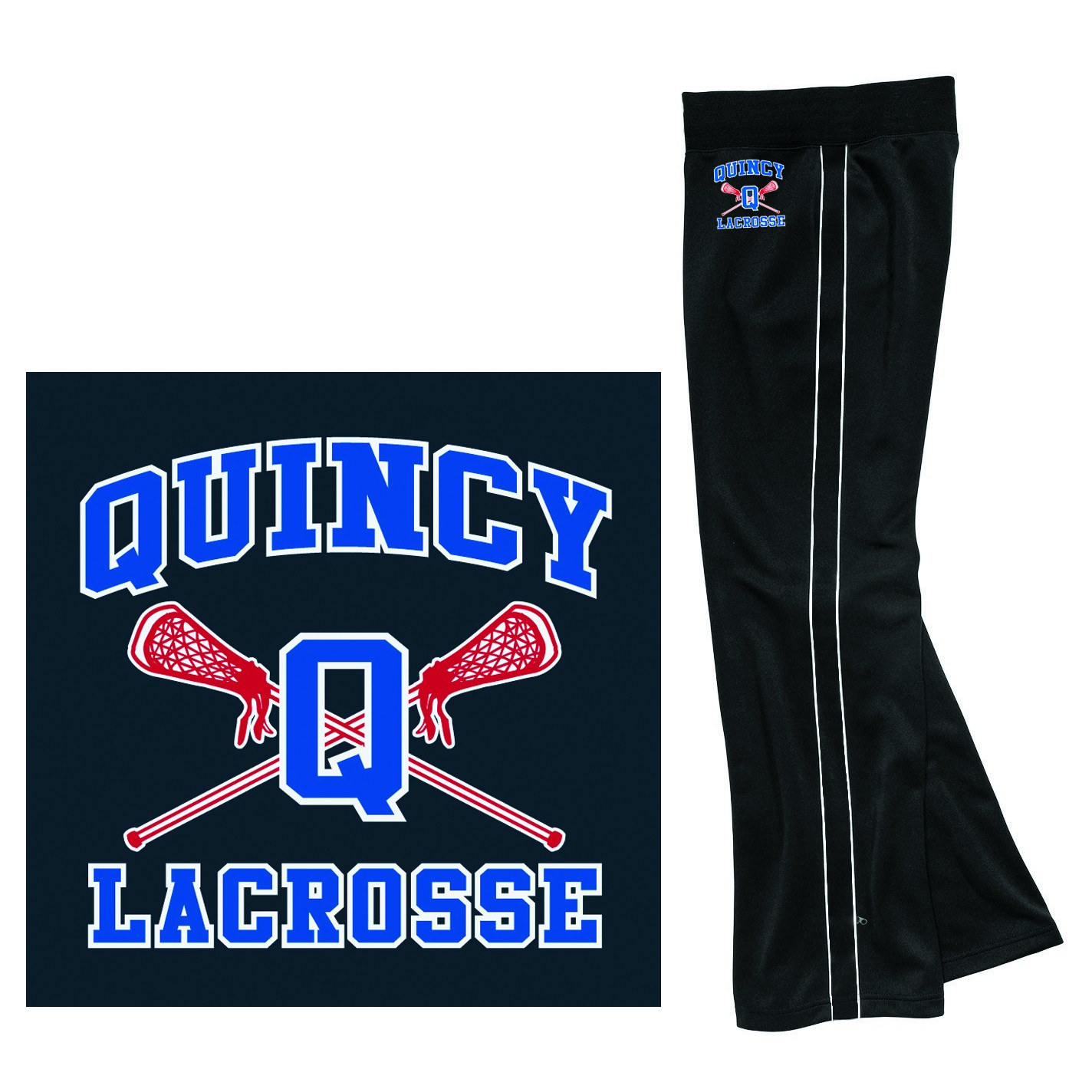 Quincy Lacrosse Charles River Girls' Olympian Pant 4985