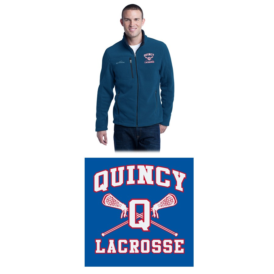 Quincy Lacrosse Eddie Bauer® Men's Full-Zip Fleece Jacket EB200, Premium Item