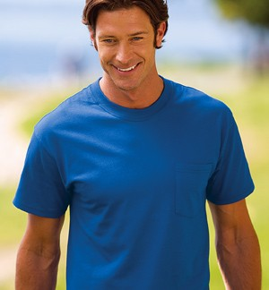 Port & Company® - Essential T-Shirt with Pocket PC61P
