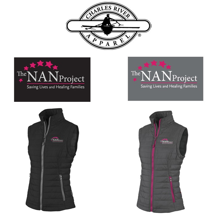 The NAN Project Charles River Brand Women's Radius Quilted Vest