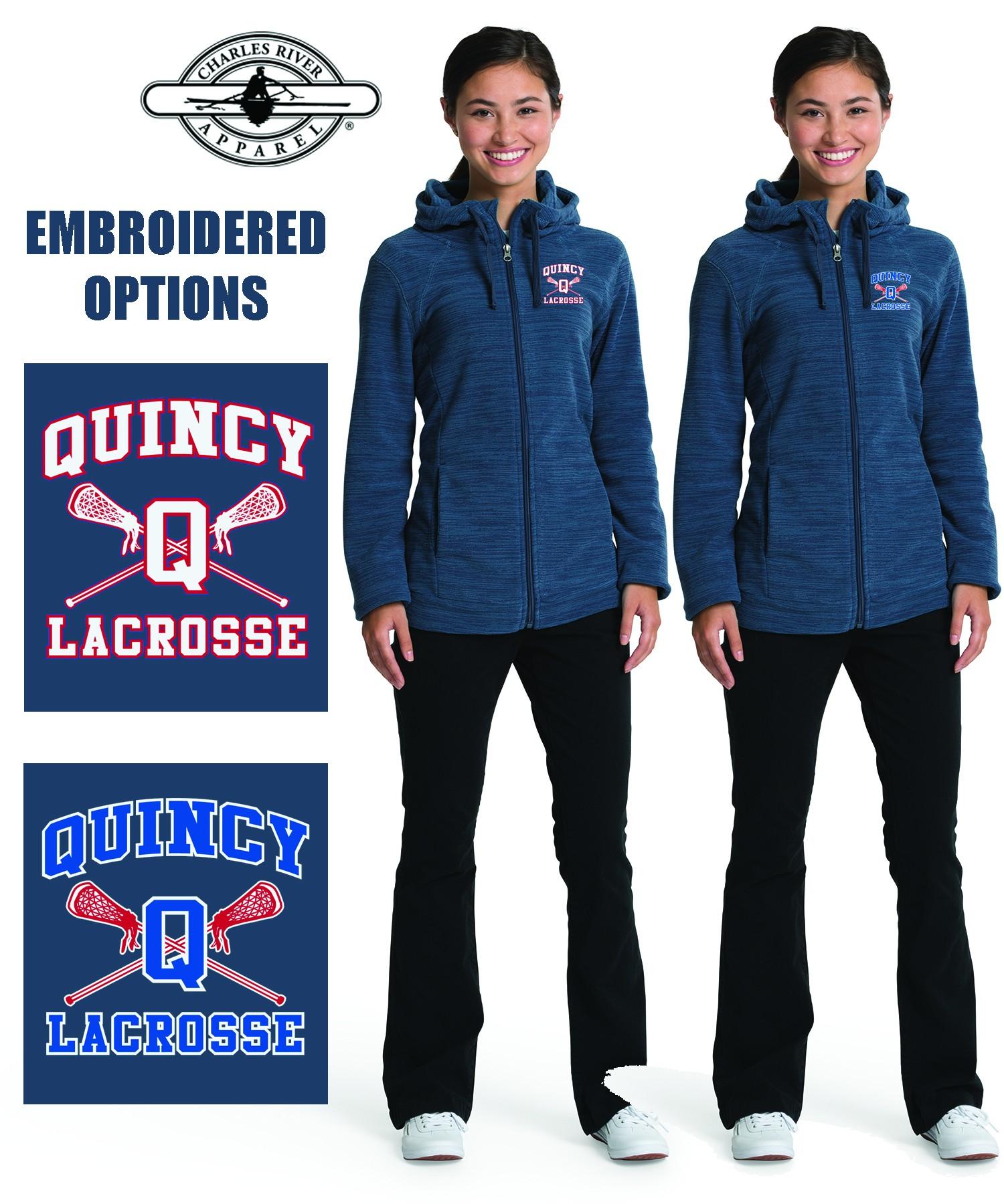 Quincy Lacrosse Charles River Women's Heron Hoodie 5697