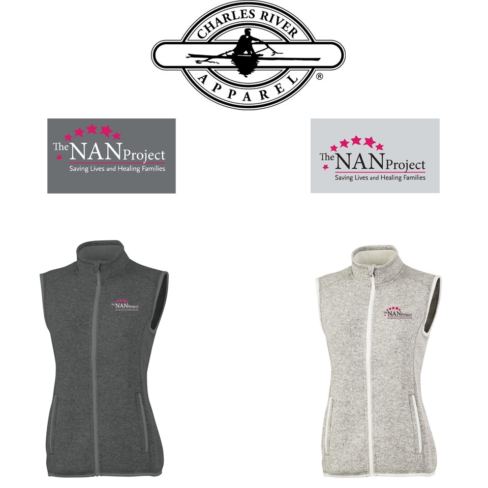 The NAN Project Charles River Brand Pacific Heathered Vest for Women