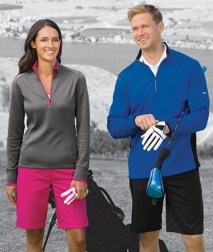 Nike Golf Ladies Dry Fit 1/2 Zip Cover-Up 578674
