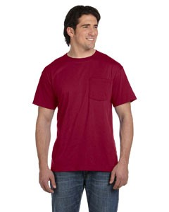 Fruit of the Loom 5.6 oz., 50/50 Best™ Pocket T-Shirt- CLEARANCE