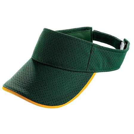 Augusta ATHLETIC MESH TWO-COLOR VISOR-ADULT