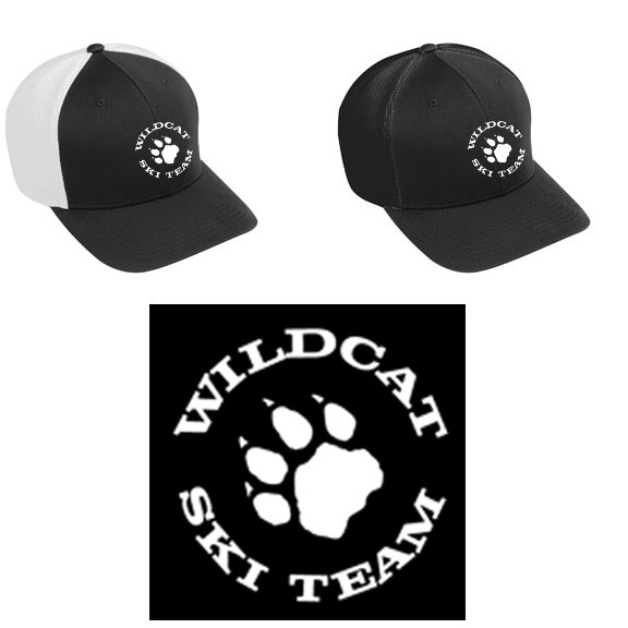 Wildcat Ski Team Augusta Flexfit Vapor Cap: Fitted, Sizes!