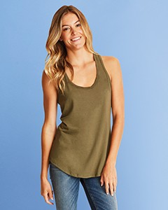 Next Level Ladies' Gathered Racerback Tank 6338